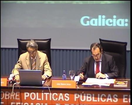 Francisco Rodeiro Marta - Xornadas sobre Políticas Públicas en tempos de crise: austeridade, eficacia e fomento da economía de Galicia